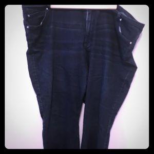 Jennifer Lopez plus size bootcut jeans